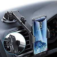 andobil Handyhalterung Auto Saugnapf & Lüftung Upgrade 4,0 Ultra Stabile 3 in 1 Universale Kfz Handyhalterung 360° Drehbar Handyhalter Auto für iPhone 11 SE Samsung Note 10 S20 S10 A51 Huawei LG usw