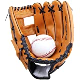 Yiiquan Unisex Gant de Baseball Cuir Outfield Softball Glove Plus Épais pour Enfants Adulte