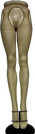 WOOTI TIGHTS Collant Strip Panty Setificato GUSTOSA 15 den, Calza Sexy, Elegante, Resistente, Morbido, Comodo, Confortevole, Velata, Disponibile nei colori Nero, Playa, Rosso
