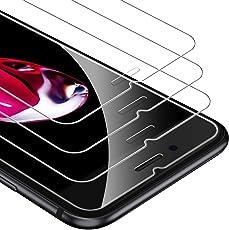 UNBREAKcable iPhone 8/7/6s/6 Panzerglas [3 Stück] für Apple iPhone 8/7/6s/6, 9H Härte Panzerglasfolie, 2.5D Displayschutzfolie, 3D-Touch, Anti-Bläschen, Anti-Kratzer