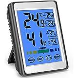 MOSUO Termómetro Higrometro Digital Interior, Termohigrómetro para Casa Ambiente Medidor de Temperatura y Humedad con Retroil