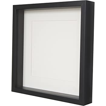 BD ART Box 3D Shadow Effect Square Photo Frame 28 x 28 x 4.7 cm with ...