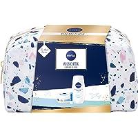 NIVEA Set regalo con beauty case per la cura della doccia, crema idratante e labello, piccolo ringraziamento per momenti…
