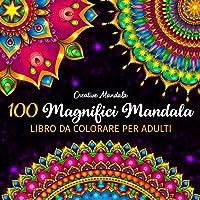 100 Magnifici Mandala - Libro da colorare per adulti: 100 bellissimi mandala da colorare per rilassarsi. Libri da…