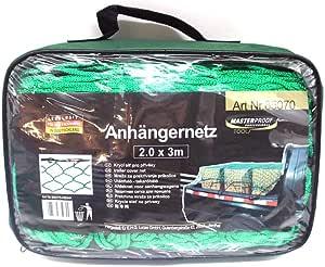 Anhà Ngernetz 2 0 Meter X 3 0meter Grà N Mit Zusà Tzlicher Umrandung Containernetz Auto