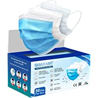 QUARANT 3 Ply Protective Surgical Face Mask, BFE >98% & PFE >95%, ISI, BIS, CE & ISO Certified, Melt Blown - SMMS Layer…