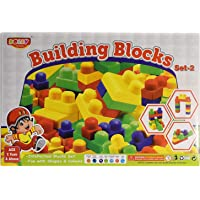 JAPSI Big Size Colorful Building Blocks Set-2( Dolly) ;Non Toxic ; Educational Game ; Improves Intellectual Capabilities…
