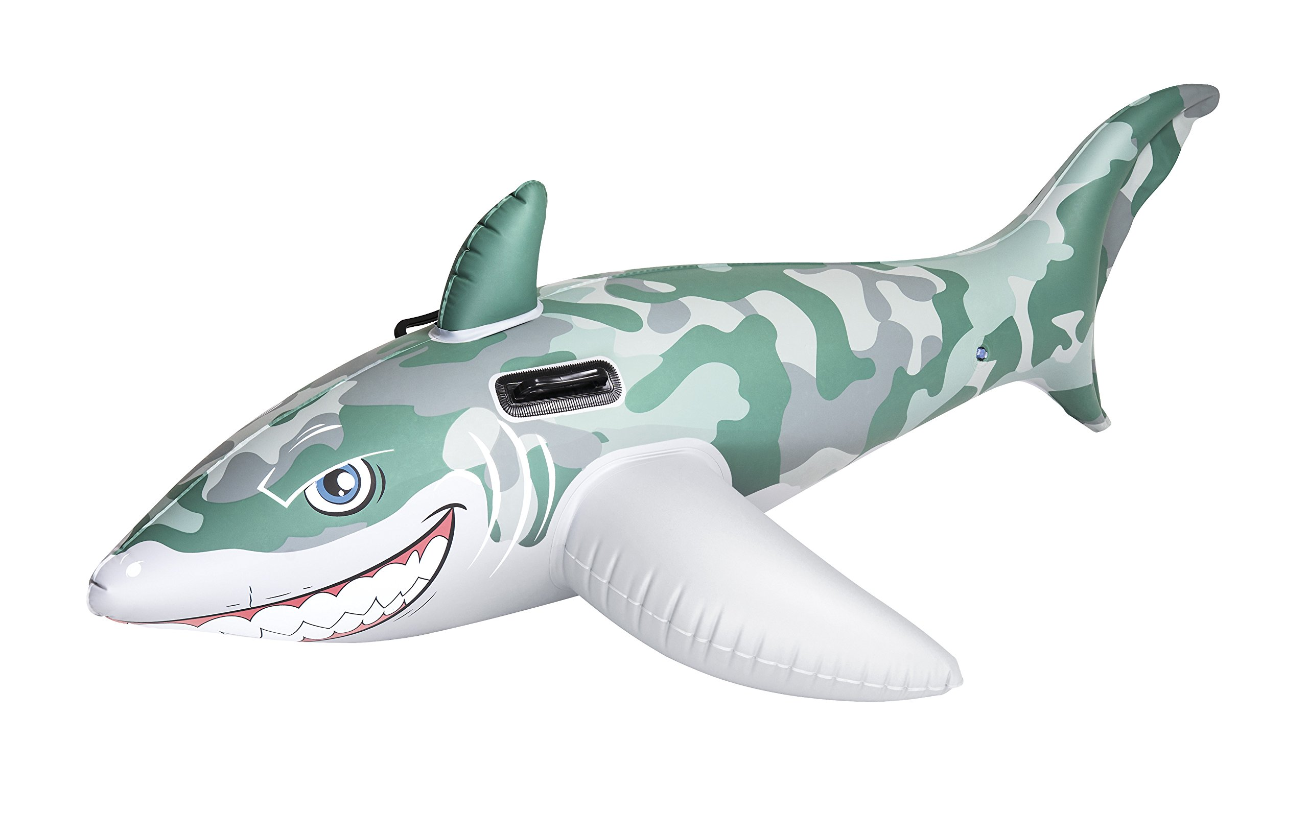 Kinderbadespaß Reittier Great White Shark 173x107 cm