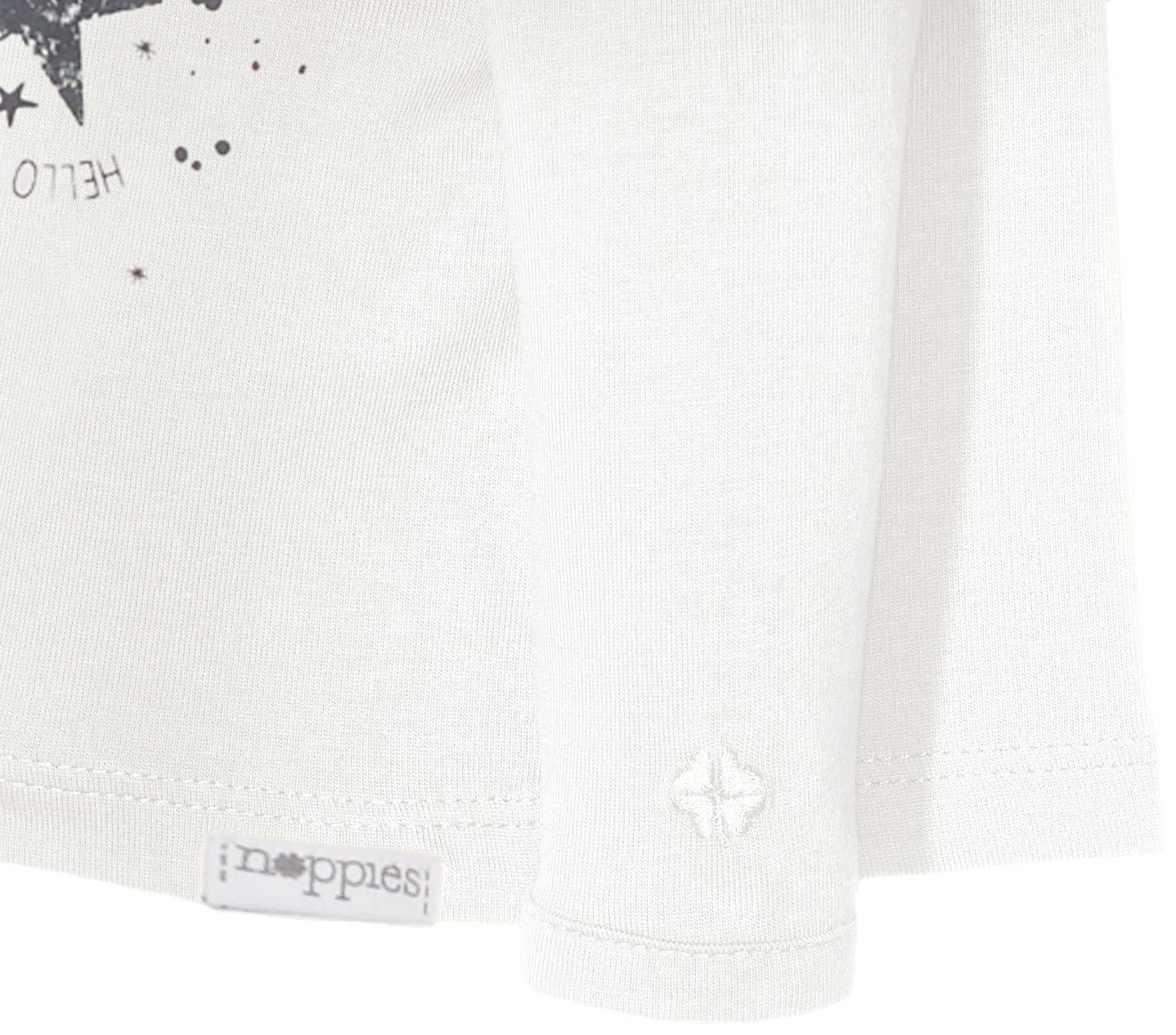 Noppies U tee LS Lux Tekst Camiseta para Bebés 2