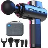 Pistolet de Massage Musculaire, RENPHO Massage Gun Masseur de Muscle Profonds avec 5 Têtes de Massage, Ultra Silencieux pour