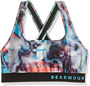 Under Armour Women's Armour Crossback Printed Bra