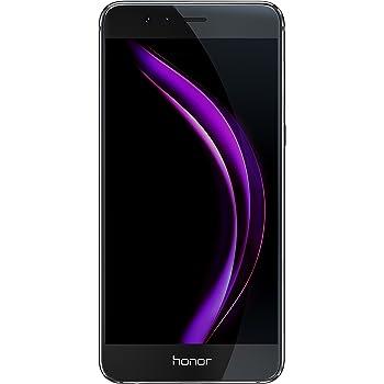 """Honor 8 Smartphone 4G LTE, Display 5.2"""" IPS LCD, Octa-Core HiSilicon Kirin 950, 32 GB, 4 GB RAM, Doppia Fotocamera 12 MP, Nero"""