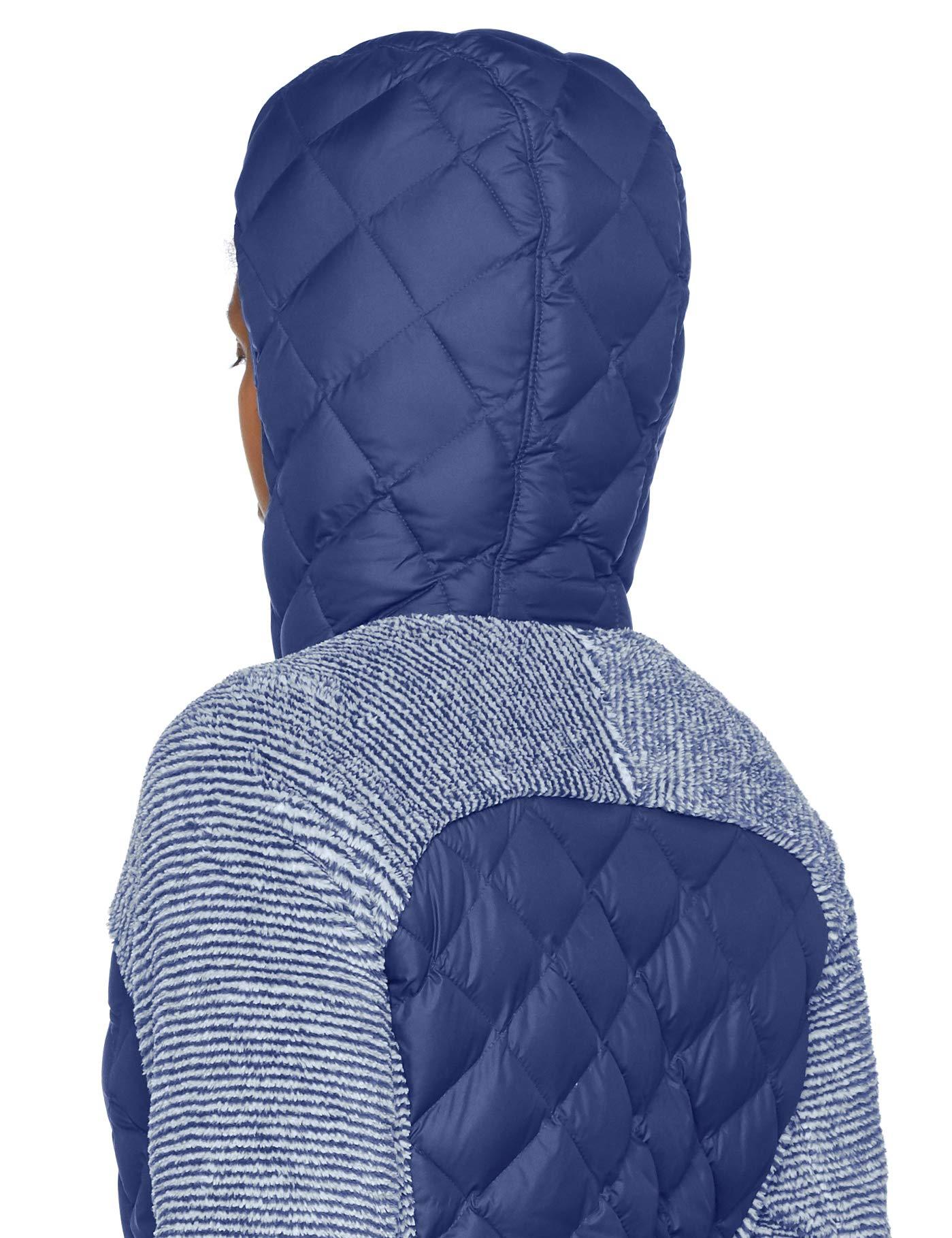 71vIrKo2w0L - Columbia Women's Techy Hybrid Fleece