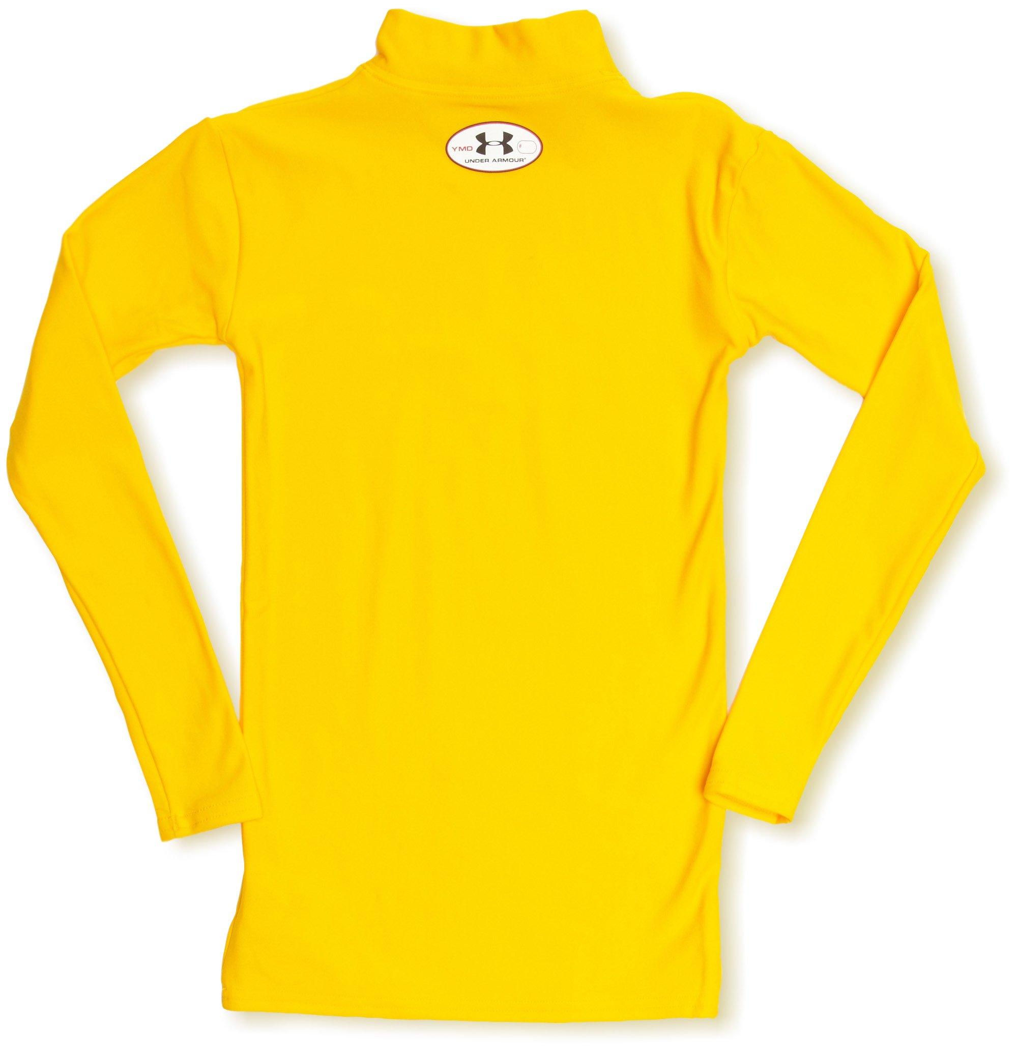 Under Armour UnderArmour-Maglietta da ragazzo, taglia XL, colore: Bianco, giallo, 10 anni