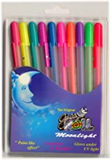 Sakura Gelly Roll Moonlight Roller-Ball Pens Water Based Gel Ink Acid Free, Water, Fade And Chemical Proof (Set Of 10)