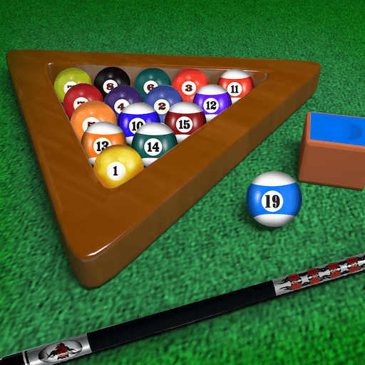 Billiards Pool Table Unlimited 8-ball Tournament : Hit the black ball -  Free Edition