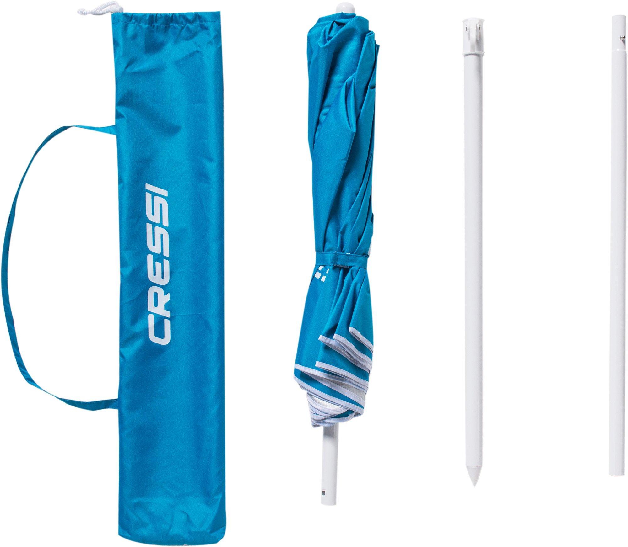 Cressi Premium Beach Umbrella Portable with Folding 6