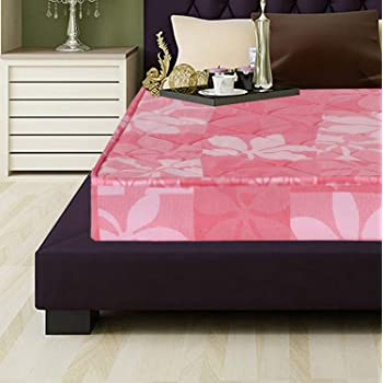 ad25843434eb3 Coirfit Daydream 4.5-inch Single Size Rubberised Coir Mattress (Pink,  72x35x4.5)