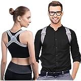 Correttore di Postura Intelligente di konjac, Fascia Schiena Avviso di Vibrazione quando Gobba per Migliorare Postura, Postur