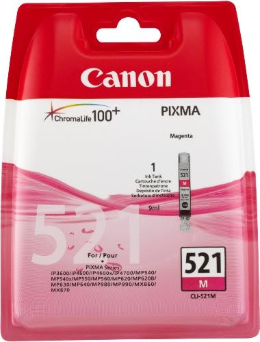 Preisvergleich Produktbild Canon CLI-521 M Original Tintenpatrone, 9ml magenta