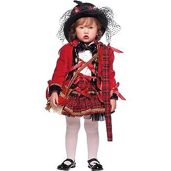 COSTUME di CARNEVALE da SCOZZESE NEONATA vestito per neonata bambina 0-3  Anni travestimento veneziano halloween cosplay festa party 50680 Taglia 1 47b02a71e243