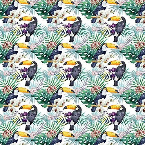 Apple iPhone SE Case Skin Sticker aus Vinyl-Folie Aufkleber Muster Bunt Dschungel DesignSkins® glänzend