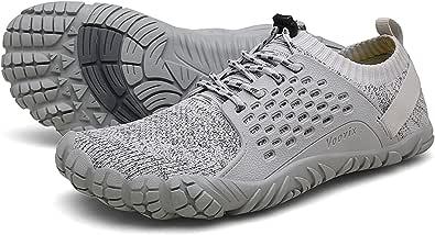 Voovix Uomo Donna Minimaliste Barefoot Scarpe da Unisex Trail Running Scarpa da Camminata Leggere Antiscivolo