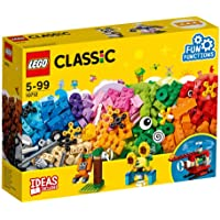LEGO Classic Bricks and Gears Building Blocks for Kids (244 pcs) 10712 (Multi Color)