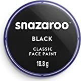 Snazaroo 1118111 kinderschmink, zwart, 1 stuk (1 stuk)