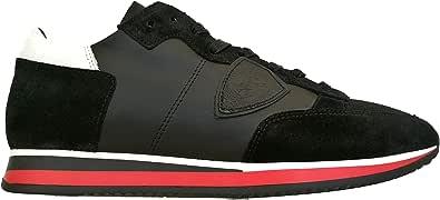 Philippe Model Scarpe Uomo Sneaker Tropez mondial TRLU WZ60 Nero Bianco