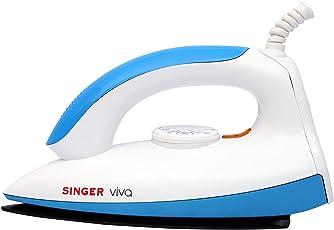 Singer Viva 1000-Watt Dry Iron (Blue)