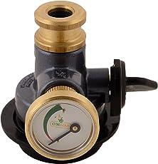 Om Brass Gas Safety Device for All LPG Cylinder (Black, FM107)