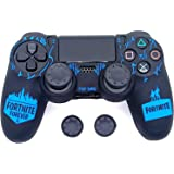 MrDeal Ps4 Fortnite Theme Silicone Protective Case Cover for PlayStation 4 PS4 Controller High Quality Protective Silicone Co
