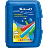 Pelikan- Modelliermassen Creaplast - Pasta infantil (300 g), Color azul (622415) , color/modelo surtido