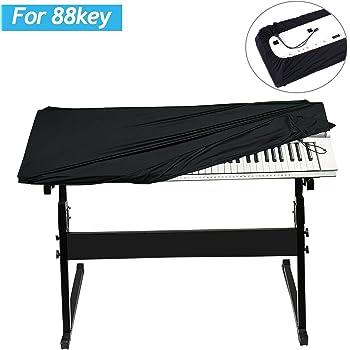 88 keys electric piano tastatur staubschutz pleuche staubdicht abdeckung # 2