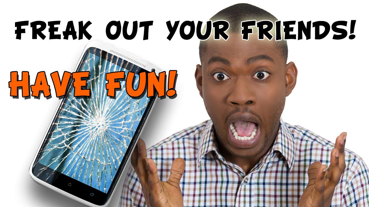 Zoom IMG-2 broken screen prank crack it