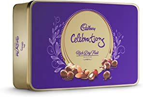 Cadbury Celebrations Rich Dry Fruit Chocolate Gift Box, 177g
