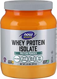 NOW Sports Whey Protein Isolate - 1.2 Lb