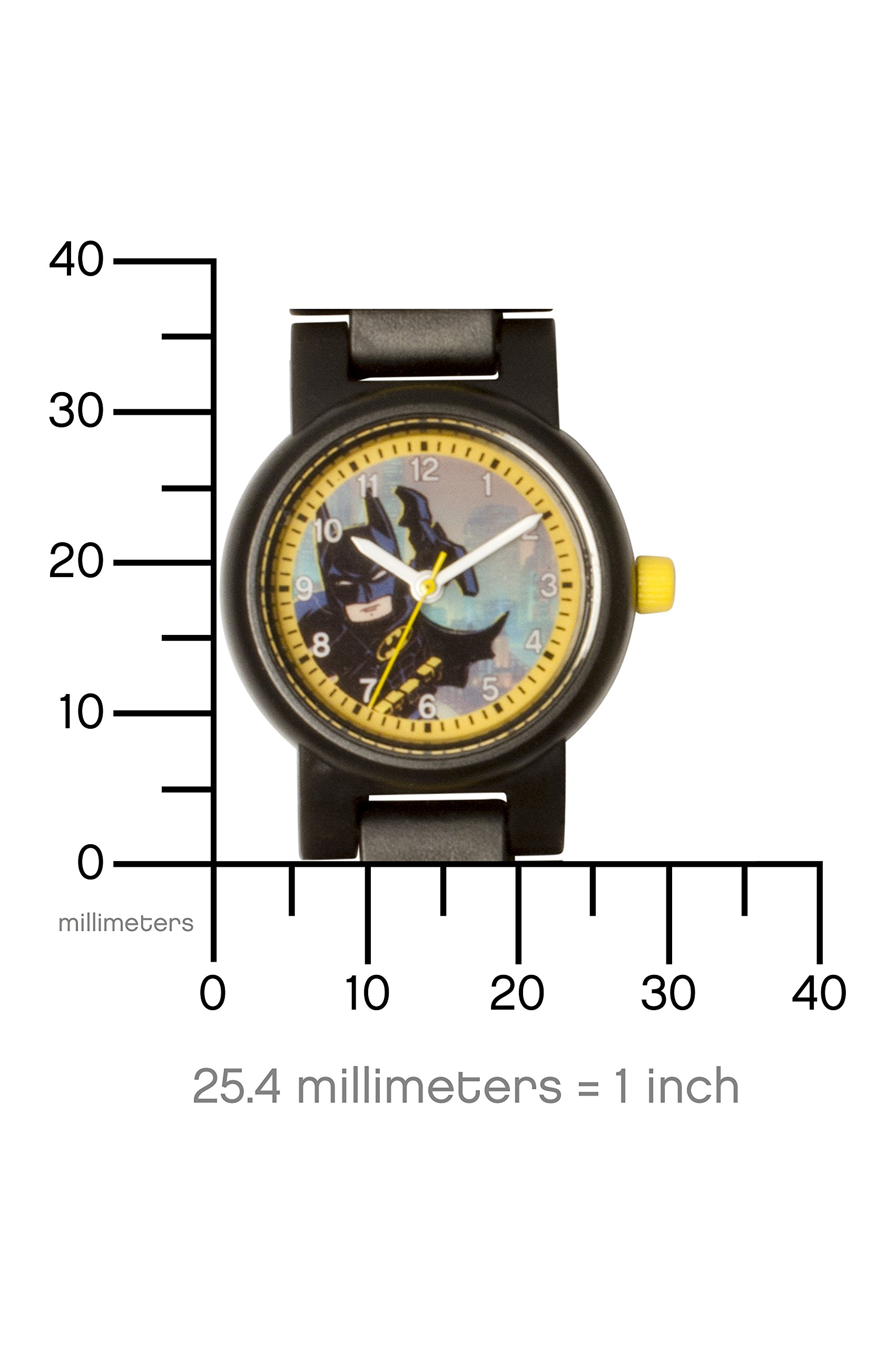LEGO Batman 8020837 Orologio da polso componibile per bambini con minifigure Batman 4 spesavip