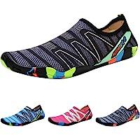 QIMAOO Barefoot Skin Water Shoes Socks, Men Women Quick Dry Water Sport Shoes, Unisex Aqua Shoes for Swim Surf Yoga…