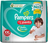 Pampers New Diapers Pants, XX-Large (28 Count)