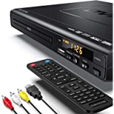 ELECTCOM DVD Player - DVD Player with HDMI Cable for TV, Multi Region DVD Player USB, DVD Players for TV with Remote…