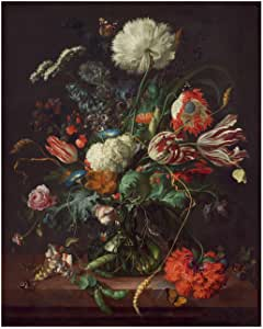 Jan Davidsz de Heem Vase of Flowers Fine Art Print//Poster