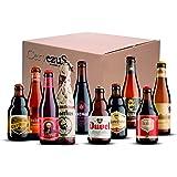Cervezas Belgas (Pack 10 variedades) - Cerveza Belga - Pack Cervezas Belgas - Cervezas del Mundo Regalo - Pack Cervezas del M