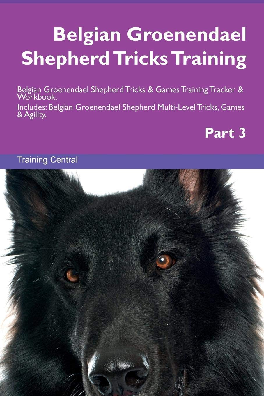 Belgian Groenendael Shepherd Tricks Training Belgian Groenendael Shepherd Tricks & Games Training Tracker & Workbook.  Includes: Belgian Groenendael … Multi-Level Tricks, Games & Agility. Part 3
