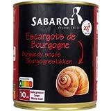 Sabarot Finest Burgundy Snails 800gr 120 Medium Snails