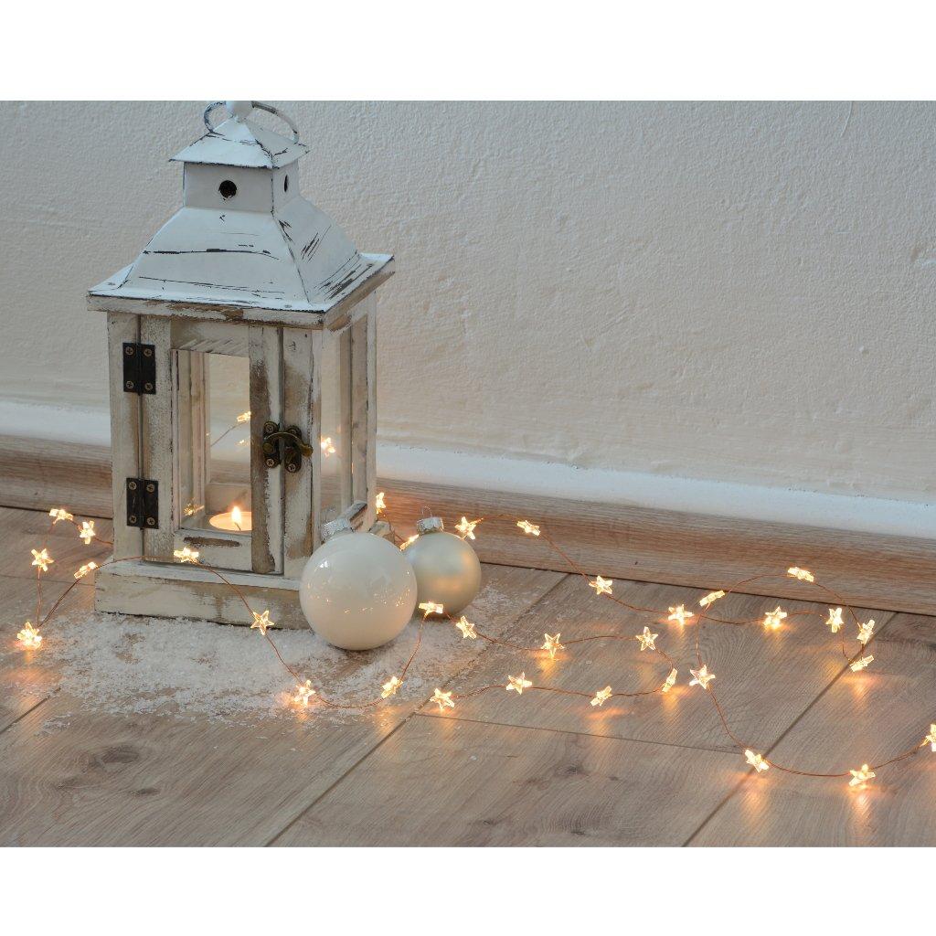 Atemberaubend Weißer Draht Führte Weihnachtslichter Galerie ...