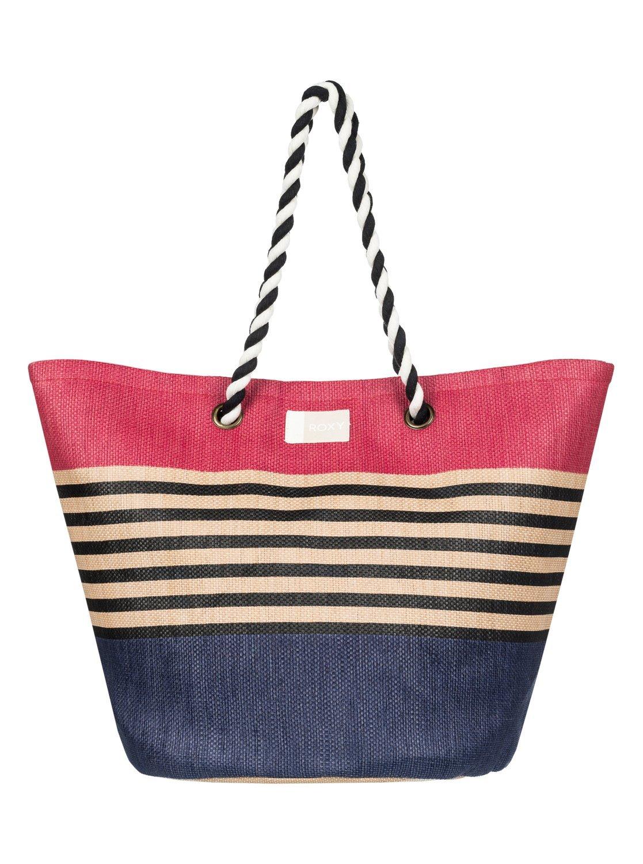 Roxy Sunseeker – Bolsa de Playa de Paja para Mujer ERJBT03084