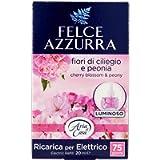 Felce Azzurra Ricarica Deo Ambiente Elettrico Profumo Peonia & Fiori di Ciliegio - Pacco da 1 x 20 ml - Totale: 20 ml