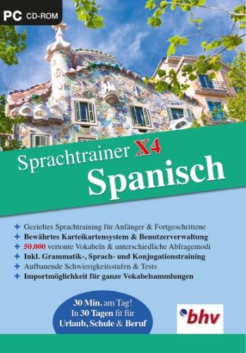 Sprachtrainer X4 Spanisch